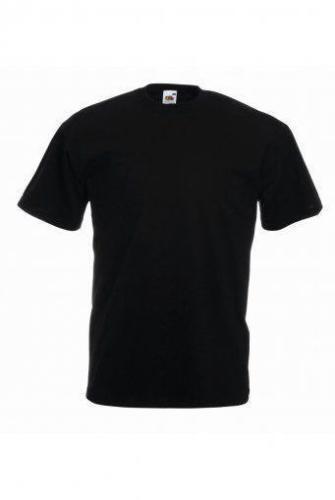 12 Pack Fruit of the Loom original T shirt blanc noir Random Colour Tee en vrac