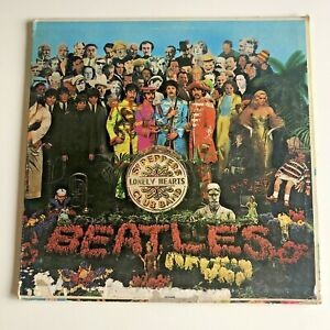 The Beatles Sgt. Pepper's Lonely Hearts Club Band Vinyl 1st Edition 1967 Mono