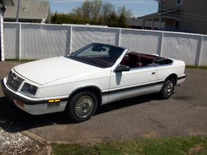 1989 Chrysler Le Baron convertible