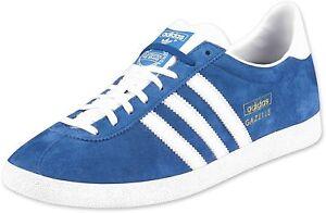 adidas gazelle bleu blanc homme