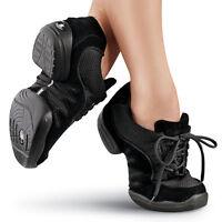 NEW Sansha Capezio Balera Black Jazz Hip Hop Dance Sneakers Child & Adult