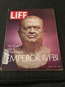 LIFE-MAGAZINE-APRIL-9-1971-47-YEAR-REIGN-OF-J-EDGAR-HOOVER-EMPEROR-OF-THE-FBI
