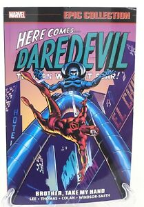 Daredevil-Epic-Collection-Brother-Take-My-Hand-Karen-Page-Marvel-Comics-New-TPB