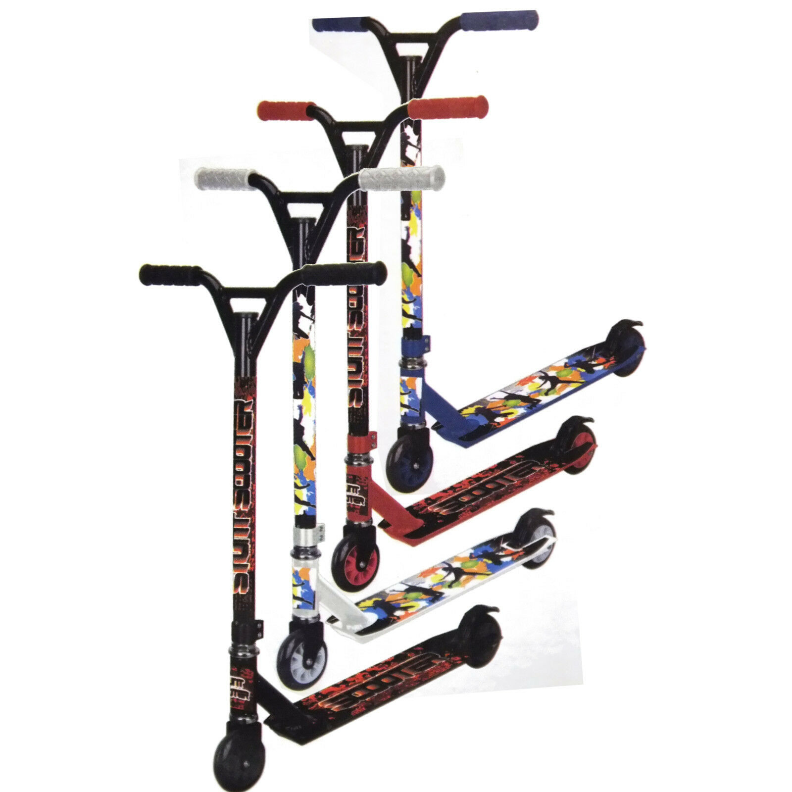 SCOOTER RAGE 360 DEGREE PRO STUNT SCOOTER (4 COLOURS, HIGH SPEC, AGES 7+)