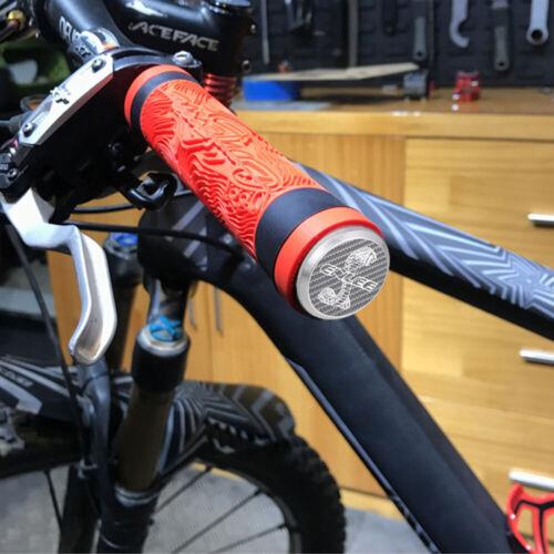 2PCS Aluminum Alloy Bike Handlebar Bar End Plug Caps Bicycle MTB Road Cycling