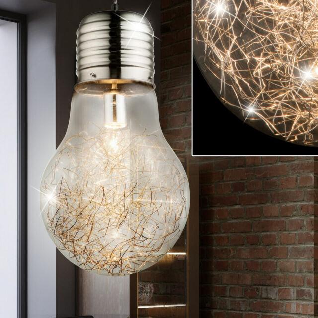 Deckenleuchte Deckenlampe Flurlampe Design Lampe Glas