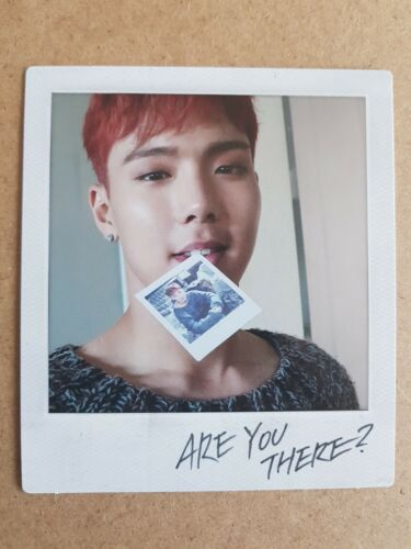 2nd Album MONSTA X SHOWNU Official POLAROID PHOTOCARD TAKE.1 ARE YOU THERE