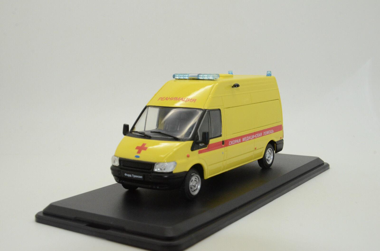 Rara Ford Transit Ruso Ambulancia Hecho a Medida 1 43