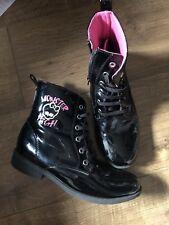 cb0832023d item 6 Monster High Girl Hi Tops Boots Hi Shine Size 34 -Monster High Girl  Hi Tops Boots Hi Shine Size 34
