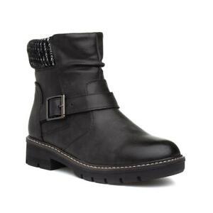 Lilley \u0026 Skinner Womens Black Ankle