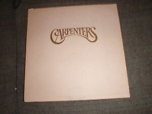 Details about THE CARPENTERS - SELF TITLED - ENVELOPE ORIGINAL VINYL LP  RECORD ALBUM SP-3502