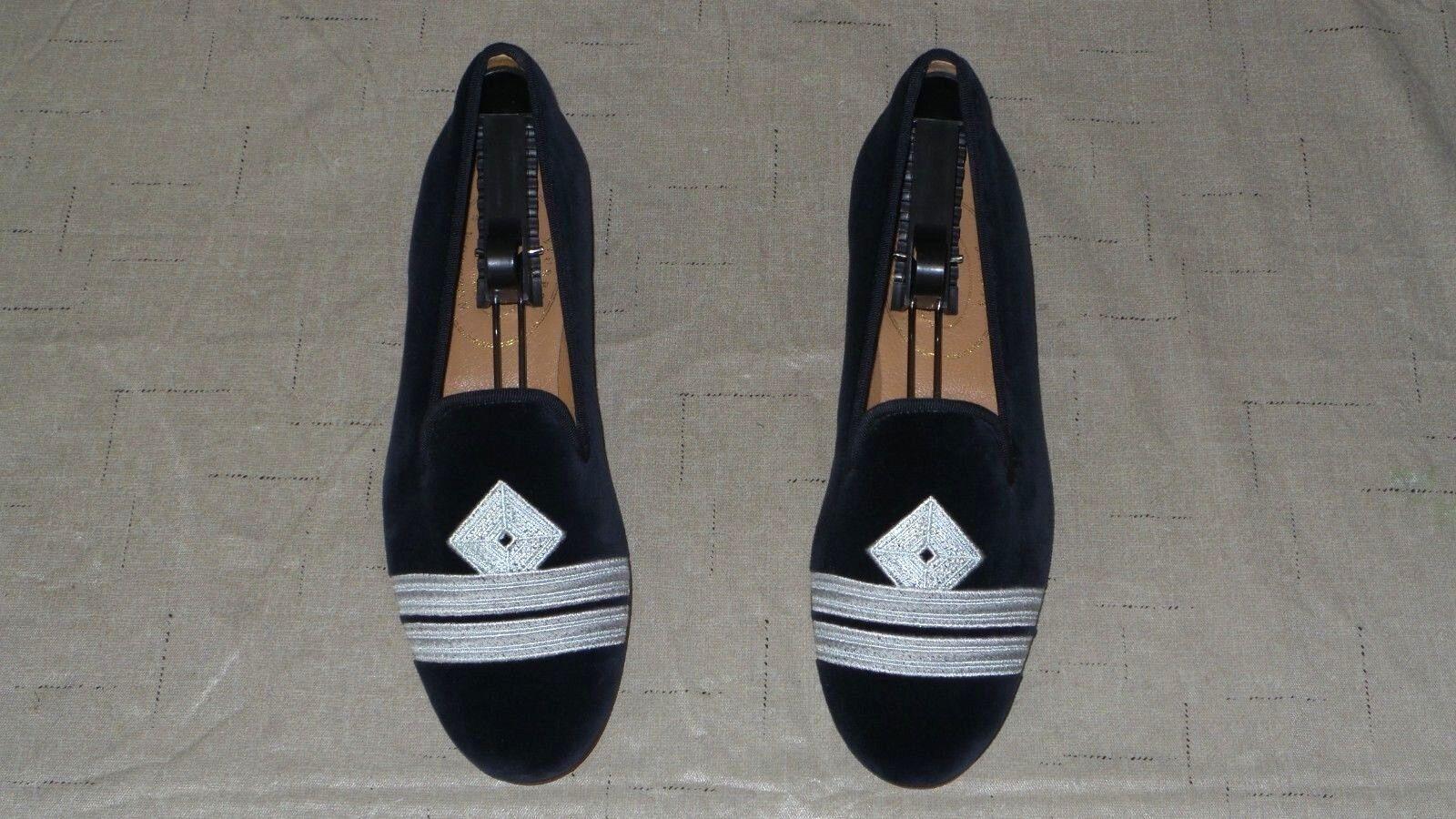 Tan lindo  Mujer  450 450 450 Stubbs and wootton Velvet  Almirante  Zapatillas Mocasines Zapatos  Compra calidad 100% autentica