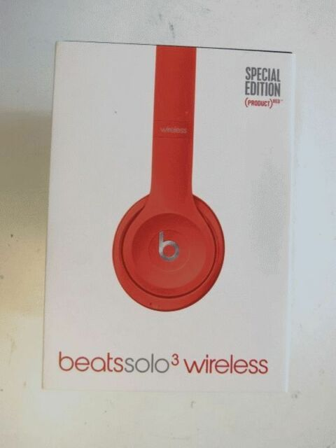 Beats Solo3 Wireless On-Ear Headset – Product Red Rot Special Edition NEU + OVP