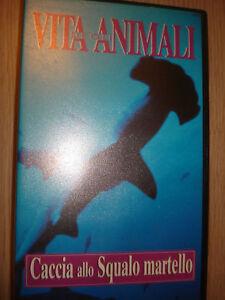 VHS Life of The Animali Hunting Xenon Squalo Hammer