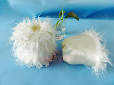 Cuff Fluffy Furry Faux Fur Leg Warmers Boot Toppers Shoes Cover Dancing 15cm