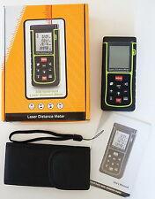 40m 131ft 1575in Digital Laser Distance Meter Range Finder Measure Diastimeter
