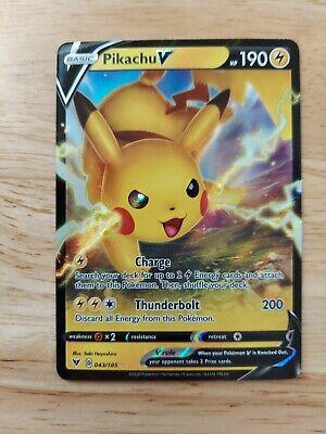 Pikachu V 043//185 Vivid voltage NM Pokémon