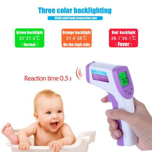Safe Forehead No Contact Thermometer Infrared Body Temperature Fever fast to US