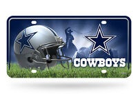 Dallas Cowboys Metal License Plate Tag