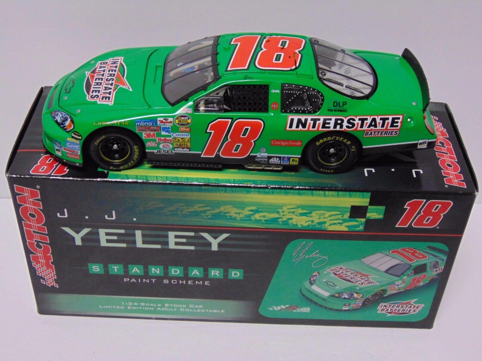 1 de 144 RARE J.J. Yeley NASCAR 2006 MONTE CARLO 1 24 Scale action voiture GM Dealer