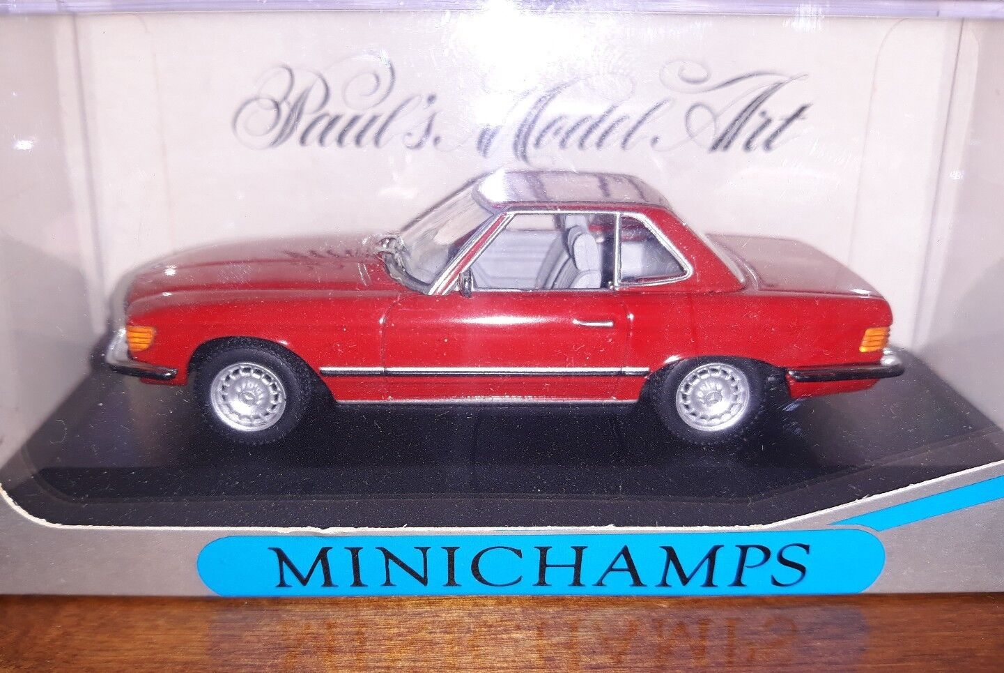 Minichamps 1 43 Mercedes-Benz 350 SL Cabriolet Hard Top rot