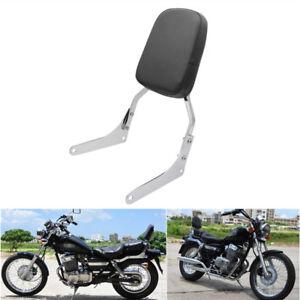 Motorcycle Backrest Sissy Bar Luggage Rack Pad for Honda Rebel 250 CMX 250 CA250 All Year