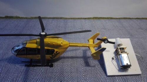 Traccia h0Elicottero 1:87 con motoreHelicopter con sotto attacco corridoio