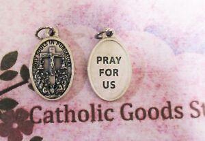Santa-Souls-en-Purgatorio-Pray-para-que-Nosotros-Tono-Plateado-Ox-2-5cm