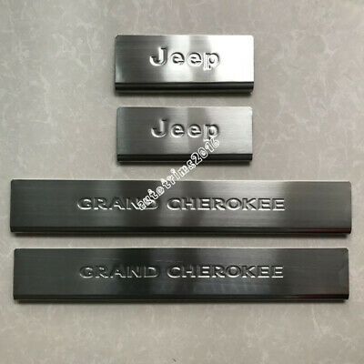 For Jeep Grand Cherokee 2011-2016 Stainless Steel Door Sill Scuff Plate