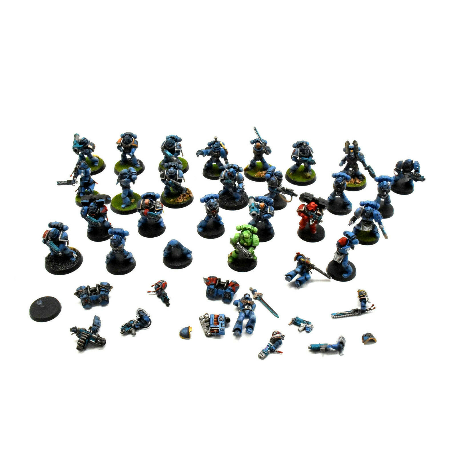 soporte minorista mayorista Marines espaciales 25 Marines devastadoras táctica de de de asalto  1 Warhammer 40K  excelentes precios