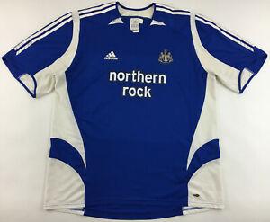 Newcastle United 2005 2006 third blue shirt Adidas jersey camiseta Utd. 3XL XXXL