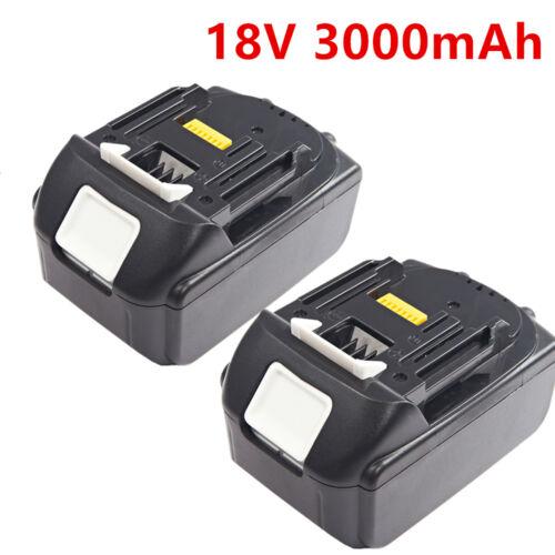 2X18 VOLT 3000mah Akku für Makita BL1830 Li-Ion DDF456 LXT 18V 3000mah