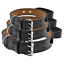 thumbnail 4 - Leather-Dog-Collar-With-Handle-For-Dog-Pet-Control-Training-Heavy-Duty-M-L-XL