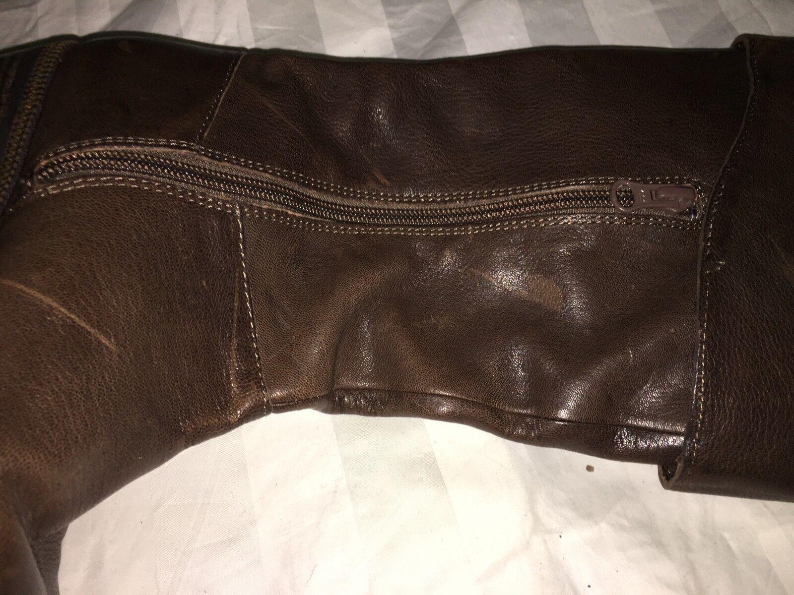 Calvin Klein Jeans Padora Braun Damens Boot Winter Comfort Schuhe Größe 6.5 R7470