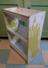 Vintage 1950's Worcesterware Vegetable Rack Kitchen Storage Shelves retro metal