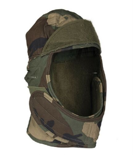 US Army WCP Woodland Camouflage Reforger Winter Mütze Cap XS  6 1/2 Gr. 55