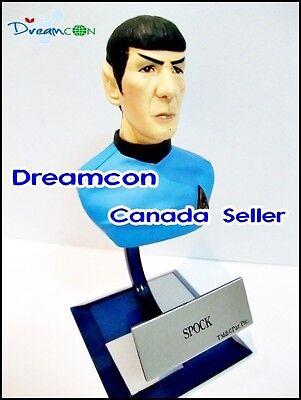 Furuta Star Trek Vol 3 Alpha No. 5 Bust Spock File Spaceship display Model