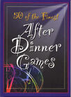 50 of the Finest After Dinner Games by Lagoon Books (Hardback, 1999)