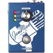DigiTech JamMan Vocal XT Voice Harmony dbx Preamp Looper Guitar Effect Pedal