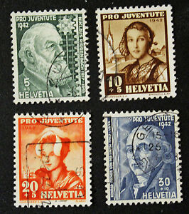 Stamp-Switzerland-Yvert-and-Tellier-N-380-IN-383-C-Obl-Cyn16