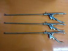 Laparoscopy Needle Holder Set Of 3 Addler Brand New