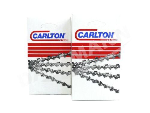 2x CARLTON Vollmeißel Sägekette 40 cm für STIHL MS 341