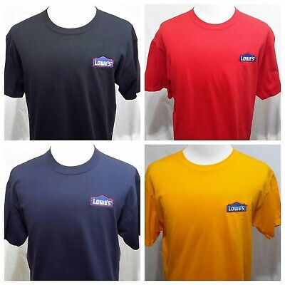 LOWE/'S HOME IMPROVEMENT T Shirt T-SHIRT 100/% COTTON ROUND NECK SHIRT SIZE LARGE