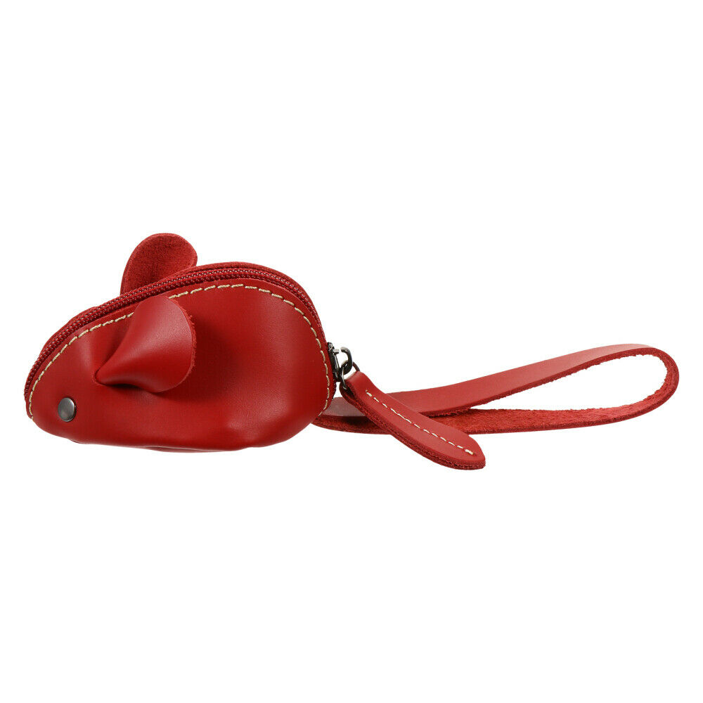 1Pc Bag Creative Adorable Leather Change Purse Coin Purse for Friend Girl