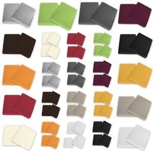 Spannbettlaken Jersey Packauswahl 100% Baumwolle 90x200 100x200 120x200 200x200