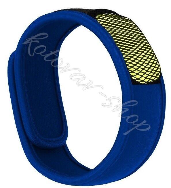 Anti-Moustique Bracelet Poignet Poignet Poignet Bande Répulsif Recharges, Noir, Bleu, Vert, Jaune 61b56b
