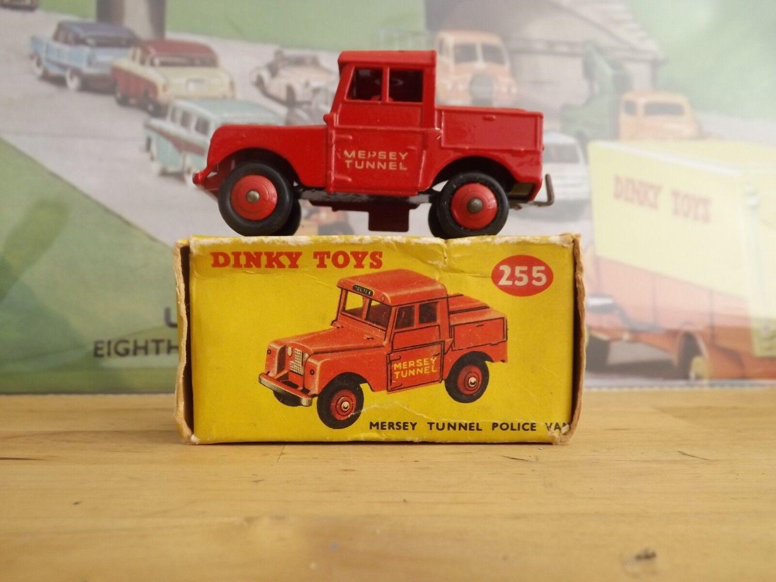 Dinky Meccano 255 Mersey Tunnel policía van en caja