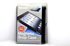 NEW Incase Magnetic iPad Snap Case CL60137 for Ipad  3rd 4th Gen Black