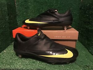 brand new c9372 44d67 Nike Mercurial Vapor V SG black yellow SUPERFLY II III IV SG 11 10 ...
