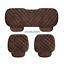 thumbnail 11 - Universal Front Rear Car Seat Cushion Auto Fashion Chair Mat Decorate Warmer Pad